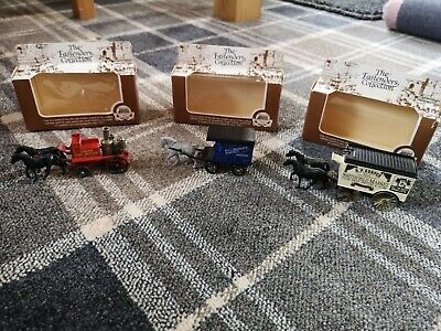 Lledo The Eastenders Collection Advertising Carts / Fire Brigade * Boxed • 3£