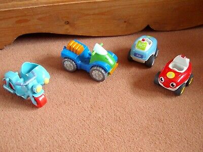 Unbranded Vehicles X 4 Quad Motor Bike & Sidecar Wow Toys Fire Engine Ambulance  • 4.99£