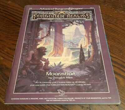 Fr2 Moonshae Ad&d Forgotten Realms 9217 From 1987 Complete • 30£