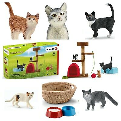 Schleich Cats & Accessories Schleich Playtime For Cute Cats. Model Cats • 10.99£