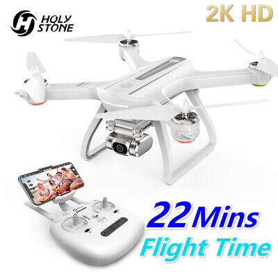 Holy Stone HS700D FPV Drone With 2K HD Camera Video Quad GPS 5G WIFI Brushless • 155£