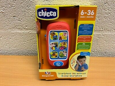 Chicco Abc Animals Smart Phone New French And English  • 15.49£