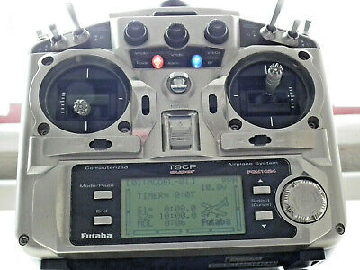 Futaba T9cp Super 35 Meg Transmitter In Excellent Fully Working Condition Mode 2 • 99.95£