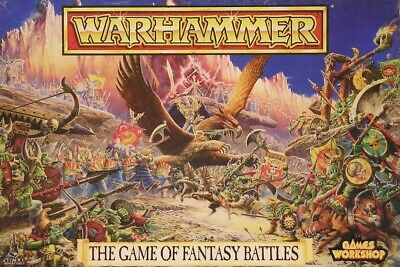 Warhammer : The Game Of Fantasy Battles : 4th Edition : Complete : 1992 • 300£