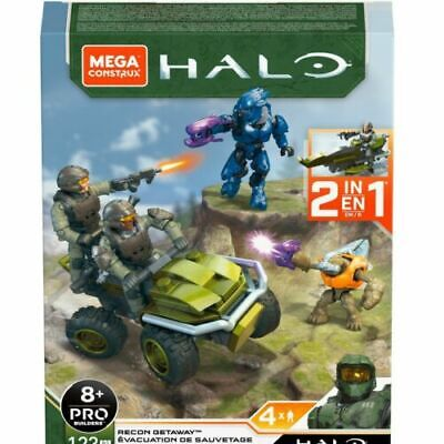 Mega Construx Halo Recon Getaway (Mongoose Hunt) - New In Stock • 14.99£