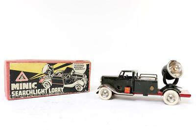 Vintage~ C1937~  Tr-Ang Minic   Searchlight Lorry   No 49ME  Clockwork ~ Working • 78£