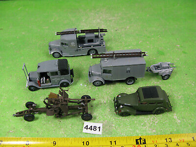 Vintage Oxford 1/76 Diecast Vehicles Mixed Military Model 4481 • 12£