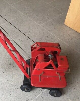 Vintage Triang Jones KL44 Crane With Priestman Grab. One Owner From New! GWO. • 75£