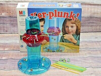 Ker-Plunk! Strategy Game MB Games Vintage 1991 Boxed • 10.95£