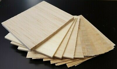 Balsa Wood Bundle Pack Of Off Cuts Various Sizes 14 Pieces  • 7.99£