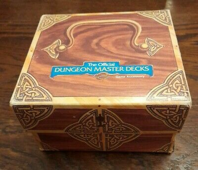 AD&D The Official Dungeon Master Decks • 20£