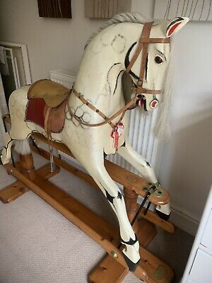Traditional Wooden Rocking Horse • 700£