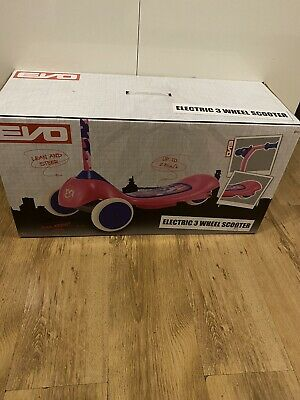 Evo Electric 3 Wheel Scooter Pink  • 35£