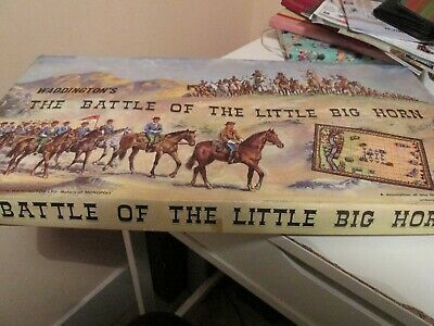 Waddington's 'The Battle Of The Little Big Horn' Board Game 1964 Complete `  • 19.50£