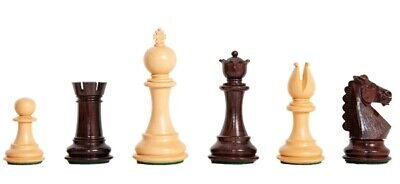 The Bedford Chess Set - Pieces Only - 3.75  King - Indian Rosewood • 202.69£