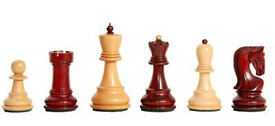 The Zagreb '59 Luxury Chess Set - Pieces Only - 2.875  King - Blood Rosewood • 217.76£