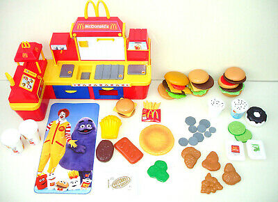 McDonalds Restaurant Fast Food Centre Till Role Play Set Toy Sounds Huge Bundle • 199.99£
