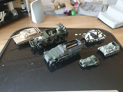 Small Bundle Of Realistic Military Vehicles Models Army Collectables • 10£
