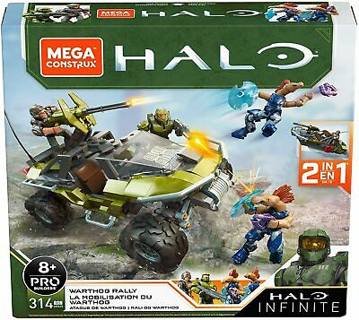 Mega Construx Halo Infinate Warthog Vehicle - Brand New • 29.99£