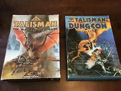 Talisman 2nd Edition With X3 Expansions Dungeon, Adventure And Expansion. • 70£