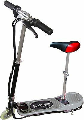 Electric Scooter Kids Ride On Stand Escooter Adjustable Seat Battery Powered • 69.99£
