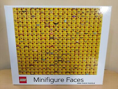 NEW Official LEGO Minifigure Faces 1000 Piece Jigsaw Puzzle • 23£