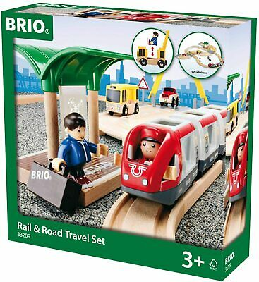 BRIO World Rail And Road Travel Train Set For Kids Age 3+ (opened Box) • 26£