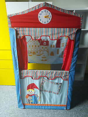 Puppet Theatre Roba 6972 With Backdrop & Clock • 17£