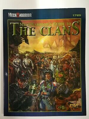 MechWarrior's Guide To The Clans; Mechwarrior Third Edition Expansion. FASA 1725 • 18£