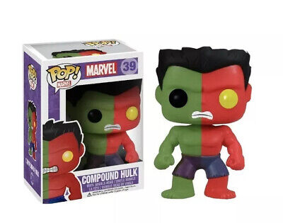 FUNKO POP! Toy Anxiety Rare Exclusive Marvel Compound Hulk #39 • 0.99£