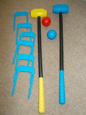 SMOBY Childs Croquet Set • 0.99£