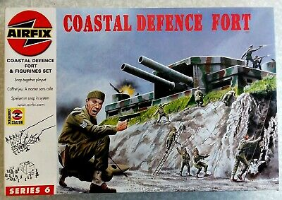 Airfix WWII Coastal Defence Fort - Series 6 • 10£