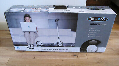Micro Scooter Classic MicroWhite SA0031. New Boxed. • 90£