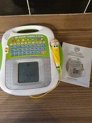 Leapfrog Mr Pencil's Scribble And Write Electronic Game • 11.99£