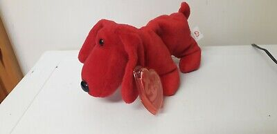 Vintage...collectable..ty Beanie...rover...with Tag..1996...red Dog...ty • 0.99£