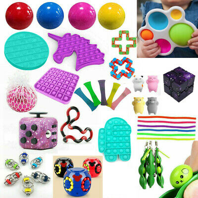 Sensory Infinity Cube Stress Fidget Toys Game Autism Anxiety Relief Kids Adult • 4.29£