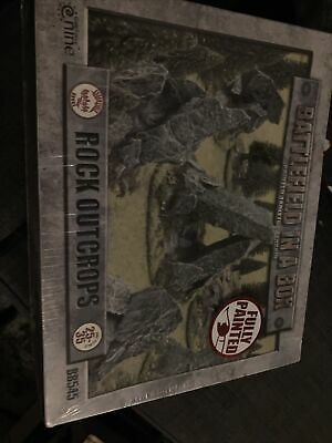 Battlefield In A Box Painted Tabletop Terrain Rock Outcrops BB545  • 10£