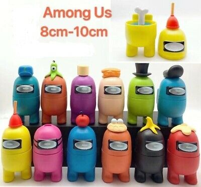 Among Us Game PVC Action Figure Separable Toy Cake Topper Toys Kids Xmas Gift • 22.99£