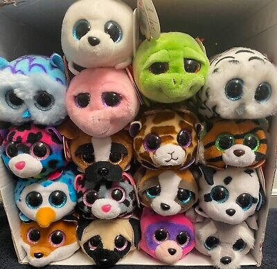 "TY Collectible Teeny Tys 4"" Mini Plush Stackable 17 Different Characters BNWT • 3.29£"