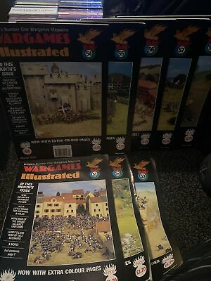 Wargames Illustrated Magazine Issues 51-58  • 7£