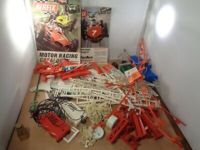 AIRFIX & Other Makers Slot Car Accessories - Controllers/Fencing/Leaflets/Guides • 19.99£