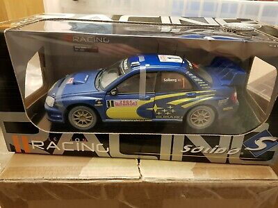 1:18 Solido Subaru Impreza  Dirty  Version Solberg 2004 • 110£