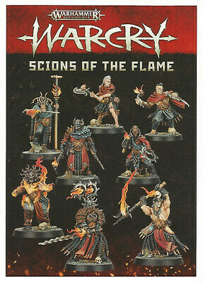 Scions Of The Flame - Single Models / Cards - Warcry - Age Of Sigmar • 7.95£