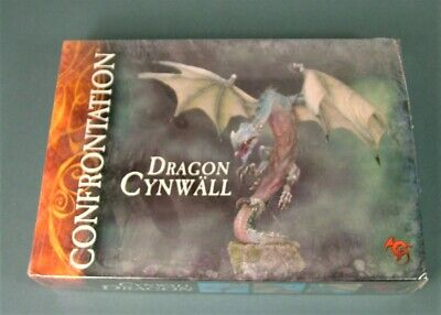 Rackham Confrontation - Dragon Cynwall - SEALED - Cards Could Be French • 99.50£