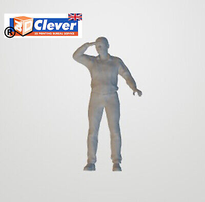 Highly-detailed Figure Of A  Lookout Man SELECT Gauge From 3cClever • 3.99£