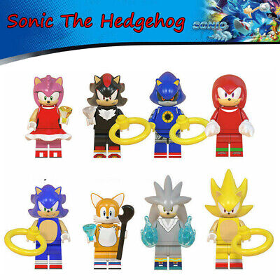 8Pcs/Set Sonic The Hedgehog Minifigure Fit Lego Toy Kid Collection Birthday Gift • 8.95£