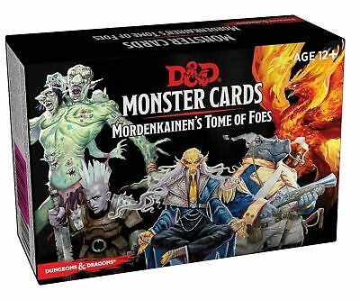 Dungeons & Dragons Spellbook Cards Mordenkainen's Tome Of Foes D&D DnD BRAND NEW • 4.30£
