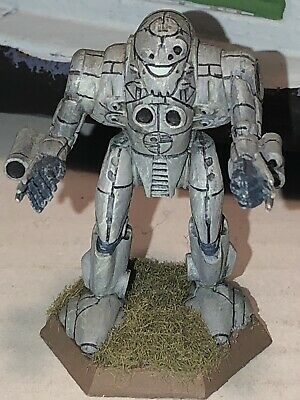 Battletech/Ral Patha 20-762 PILLAGER Mech Metal Miniature, Painted And Based. • 10£