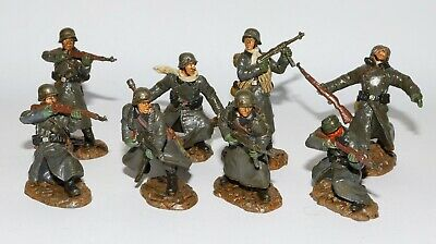 TSSD - WW2 German Infantry 1/32 Painted X 8 Deetail Airfix • 39£
