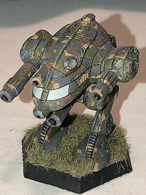 Battletech/Ral Patha 20-909 DRAGONFIRE Mech Metal Minature, Painted And Based. • 10£